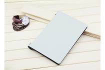 Ультратонкий фирменный чехол-футляр-книжка для Lenovo Yoga Tablet 2 10.1 4G (1050L/1051L) слоновая кость пластиковый