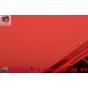 Фирменный чехол бизнес класса для Lenovo Yoga Tablet 2 8.0 4G (830L) с визитницей и держателем для руки красны..