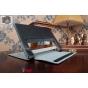 Фирменный чехол закрытого типа с отделением под аккумулятор для Lenovo Yoga Tablet 2 8.0 (830L) черный кожаный..