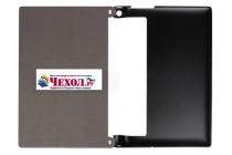 Фирменный тонкий чехол для Lenovo Yoga Tablet 10 3 16Gb 4G (YT3-X50M/X50L/ZA0K0006RU) 10.1 черный на пластиковой основе