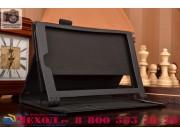 Фирменный чехол бизнес класса для Lenovo Yoga Tablet 8 3 16Gb 4G LTE (850M / YT3-850) с визитницей и держателе..