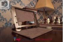 Фирменный чехол-футляр-книжка для Lenovo Yoga Tablet 8 B6000 золотой