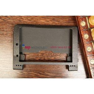 Чехол для Lenovo Yoga Tablet 8 B6000 черный кожаный