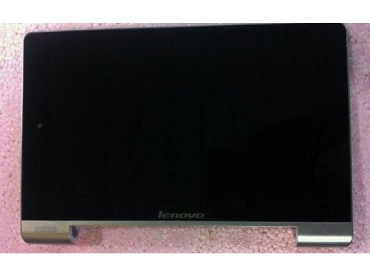 Фирменный LCD-ЖК-сенсорный дисплей-экран-стекло с тачскрином на планшет Lenovo Yoga Tablet 8 B6000 черный и ин..