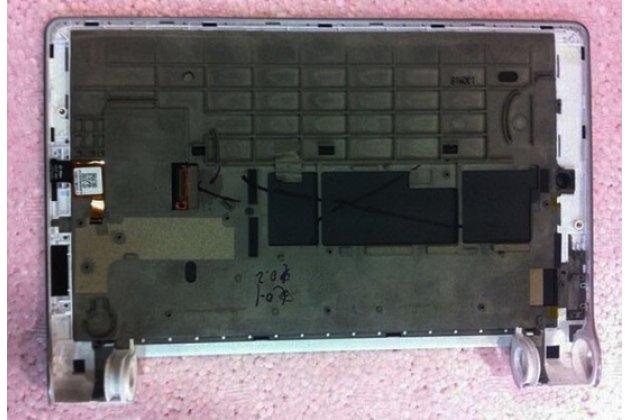 Фирменный LCD-ЖК-сенсорный дисплей-экран-стекло с тачскрином на планшет Lenovo Yoga Tablet 8 B6000 черный и инструменты для вскрытия + гарантия