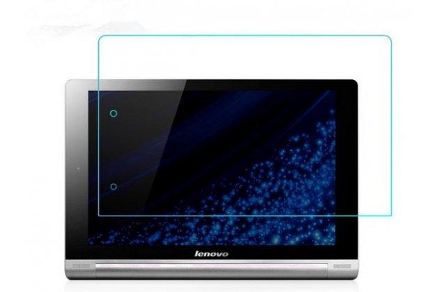 Фирменное защитное закалённое противоударное стекло премиум-класса из качественного японского материала с олеофобным покрытием для Lenovo Yoga Tablet 8 B6000