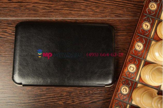 Фирменный чехол-обложка для Lenovo Ideatab A1000 SLIM черный