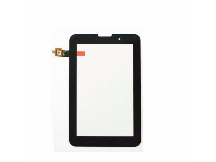 Фирменный сенсорный дисплей-стекло с тачскрином на планшет Lenovo Ideatab A3000/A3000-h черный и инструменты д..