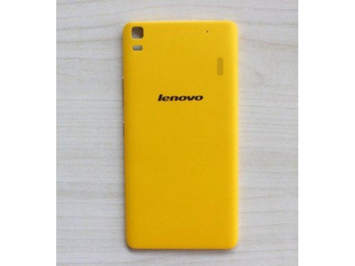 Родная оригинальная задняя крышка-панель которая шла в комплекте для Lenovo K3 Note / A7000 5.5
