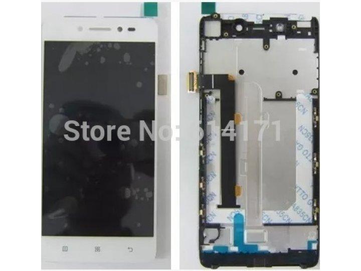 Фирменный LCD-ЖК-сенсорный дисплей-экран-стекло с тачскрином на телефон Lenovo A916 белый + гарантия..