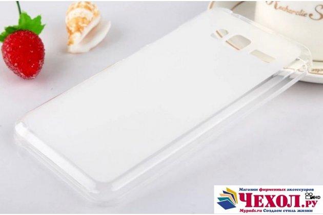 Фирменная ультра-тонкая полимерная из мягкого качественного силикона задняя панель-чехол-накладка для Lenovo A916 белая