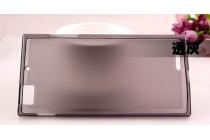 Фирменная ультра-тонкая полимерная из мягкого качественного силикона задняя панель-чехол-накладка для Lenovo K900 черная
