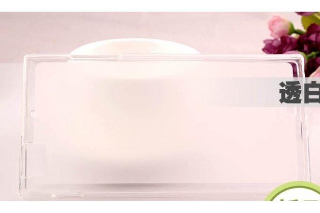 Фирменная ультра-тонкая полимерная из мягкого качественного силикона задняя панель-чехол-накладка для Lenovo K900 белая