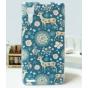 Фирменная пластиковая задняя панель-чехол-накладка с безумно красивым расписным рисунком Оленя в цветах для Le..