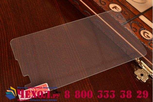 Фирменное защитное закалённое противоударное стекло премиум-класса из качественного японского материала с олеофобным покрытием для Lenovo S8 (S898t)