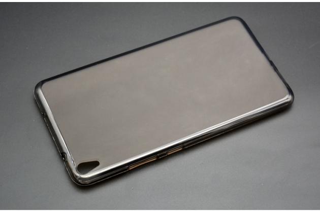 """Фирменная ультра-тонкая полимерная из мягкого качественного силикона задняя панель-чехол-накладка для Lenovo Phab PB1-750M / 750N /6.98""""/ 7.0"""" черная"""