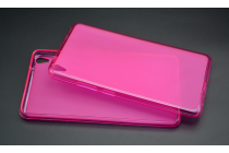 """Фирменная ультра-тонкая полимерная из мягкого качественного силикона задняя панель-чехол-накладка для Lenovo Phab PB1-750M / 750N /6.98""""/ 7.0"""" розовая"""