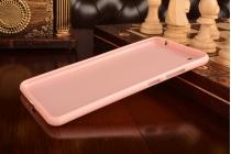 """Фирменная ультра-тонкая полимерная из мягкого качественного силикона задняя панель-чехол-накладка для Lenovo Phab Plus PB1-770N/770M 6.8"""" ZA070019RU розовая"""
