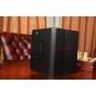 Фирменный чехол-обложка для Lenovo Ideatab S5000 черный кожаный