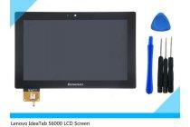 Фирменный LCD-ЖК-сенсорный дисплей-экран-стекло с тачскрином на планшет Lenovo Ideatab S6000/S6000L черный и инструменты для вскрытия + гарантия