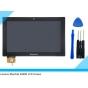 Фирменный LCD-ЖК-сенсорный дисплей-экран-стекло с тачскрином на планшет Lenovo Ideatab S6000/S6000L черный и и..
