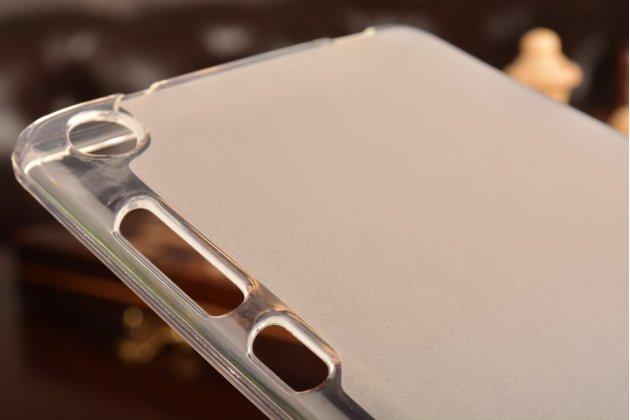 Фирменная ультра-тонкая полимерная из мягкого качественного силикона задняя панель-чехол-накладка для Lenovo Tab 3 7 Plus TB-7703X/N (ZA1K0070RU) белая