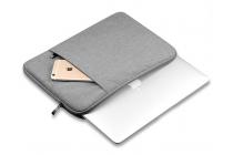 Фирменный оригинальный чехол-клатч-сумка с визитницей для YB1-X91L / X90L / ZA0W0014RU из из высококачественного материала серый