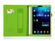 Фирменный чехол бизнес класса для Lenovo Yoga Tablet 2 10.1 4G (1050L/1051L) с визитницей и держателем для рук..