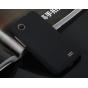 Фирменная задняя панель-крышка-накладка из тончайшего и прочного пластика для Lenovo A369i черная..