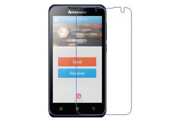 Фирменная оригинальная защитная пленка для телефона Lenovo A526 глянцевая