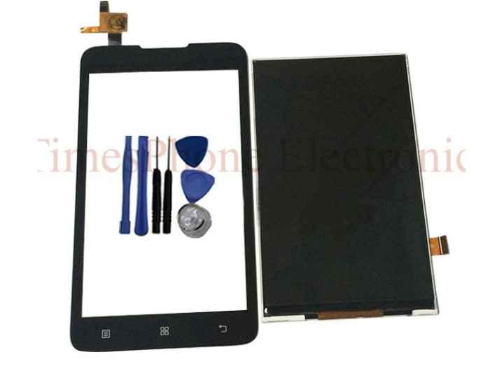 Фирменный LCD-ЖК-сенсорный дисплей-экран-стекло с тачскрином на телефон Lenovo A526 черный + гарантия..