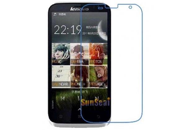 Фирменная оригинальная защитная пленка для телефона Lenovo A859 глянцевая
