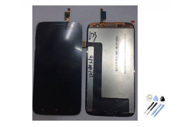 Фирменный LCD-ЖК-сенсорный дисплей-экран-стекло с тачскрином на телефон Lenovo A859 черный + гарантия