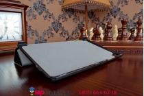 """Фирменный умный чехол самый тонкий в мире для Lenovo Ideatab S8-50F/S8-50LC """"Il Sottile"""" черный пластиковый"""