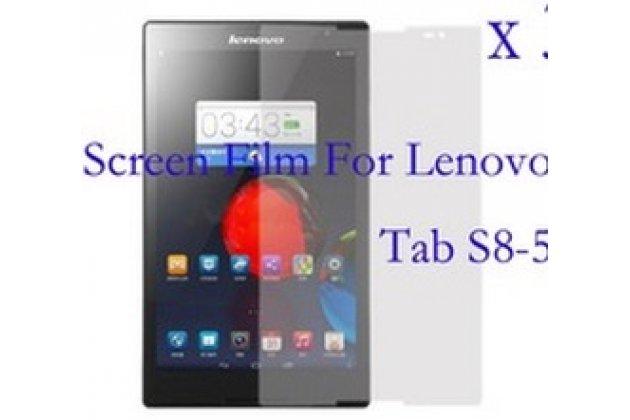 Фирменная оригинальная защитная пленка для планшета Lenovo Ideatab S8-50F матовая
