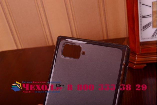 Фирменная ультра-тонкая полимерная из мягкого качественного силикона задняя панель-чехол-накладка для Lenovo Vibe Z2 Pro K920 черная