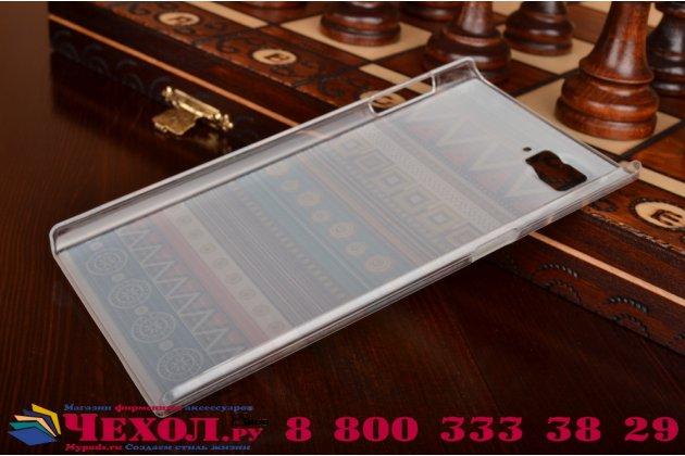 Фирменная роскошная задняя панель-чехол-накладка с безумно красивым расписным эклектичным узором на Lenovo Vibe Z2 Pro K920