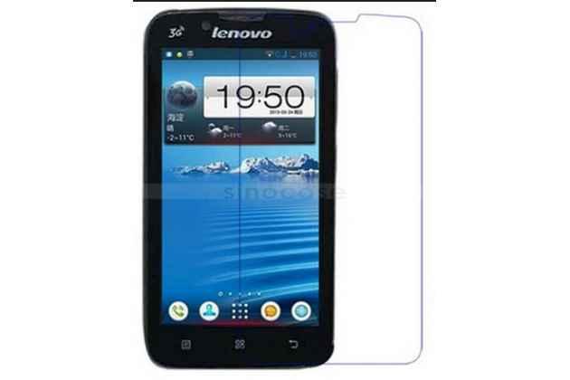 Фирменная оригинальная защитная пленка для телефона Lenovo A328 (Dual Sim) глянцевая