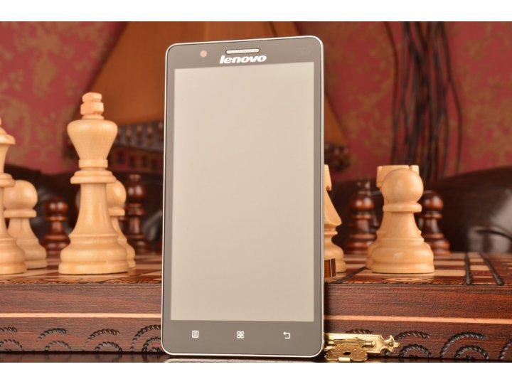Фирменный LCD-ЖК-сенсорный дисплей-экран-стекло с тачскрином на телефон Lenovo A536 черный + гарантия..