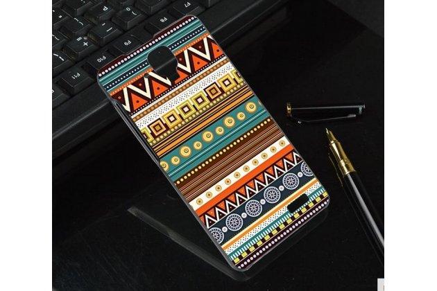 Фирменная роскошная задняя панель-чехол-накладка с безумно красивым расписным эклектичным узором на Lenovo A536
