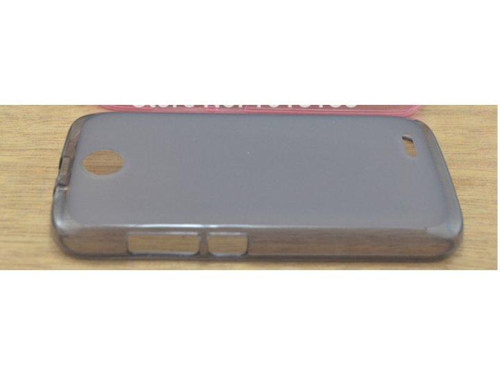 Фирменная ультра-тонкая полимерная из мягкого качественного силикона задняя панель-чехол-накладка для Lenovo A..