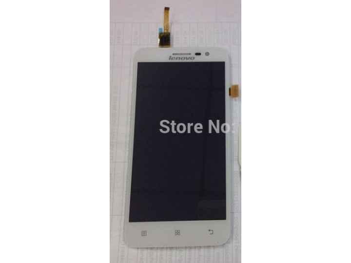Фирменный LCD-ЖК-сенсорный дисплей-экран-стекло с тачскрином на телефон Lenovo A806 (A8) белый + гарантия..