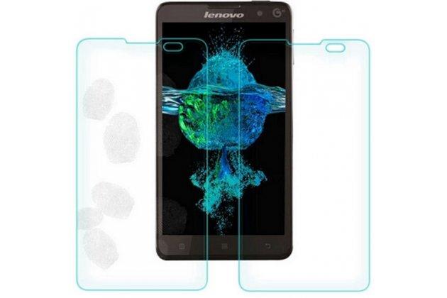 Фирменная оригинальная защитная пленка для телефона Lenovo S8 глянцевая