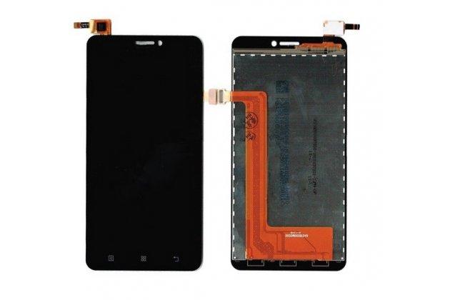 Фирменный LCD-ЖК-сенсорный дисплей-экран-стекло с тачскрином на телефон Lenovo S850 черный + гарантия