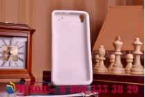 """Фирменная необычная уникальная полимерная мягкая задняя панель-чехол-накладка для Lenovo S850 """"тематика Андроид в Белом Шоколаде"""""""
