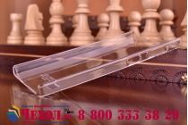 Фирменная ультра-тонкая пластиковая задняя панель-чехол-накладка для Lenovo VIBE X2 прозрачная