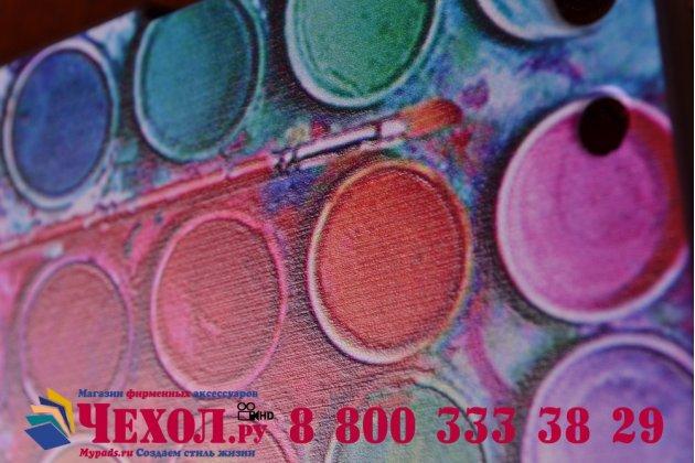 """Фирменная необычная уникальная пластиковая задняя панель-чехол-накладка для Lenovo A328 """"тематика краски"""""""
