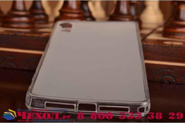 Фирменная ультра-тонкая полимерная из мягкого качественного силикона задняя панель-чехол-накладка для Lenovo Vibe Shot Z90/Z90-3/Z90-7/Z90-A40/Z90A40 LTE 5.0 белая