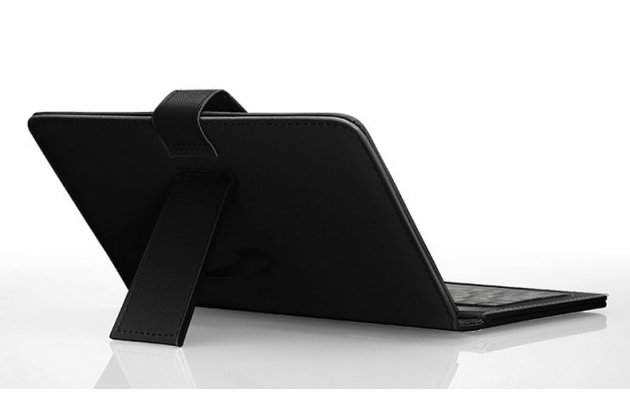 Фирменный чехол со встроенной клавиатурой для телефона Lenovo Vibe Z 5.5 дюймов черный кожаный + гарантия
