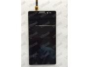Фирменный LCD-ЖК-сенсорный дисплей-экран-стекло с тачскрином на телефон Lenovo Vibe Z1 K910 черный + гарантия..